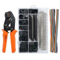 Melario Crimpzange Dupont Stecker Set Crimping Tool + 1550x Steckverbinder Crimp Pins