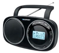"Blaupunkt BSD-9000, Uhr, Digital, FM, LW, MW, SW, 1,2W, 7,62 cm (3""), LCD"