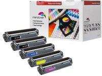 Merotoner® - 5 Toner für Brother TN-242 TN-246 HL-3142 3152 3172 CW CDW kompatibel (BK,C,Y,M)