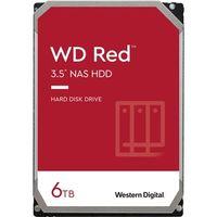 "WD Red Festplatte - 3,5"" Intern - 6 TB - SATA (SATA/600) - Speichersystem Unterstütztes Gerät - 5400U/Min"
