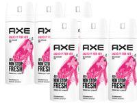 AXE Bodyspray Anarchy for Her Deo Deospray ohne Aluminiumsalze 6x 150ml Frauen Damen Deodorant mit 48 Stunden Schutz