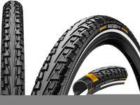 Continental Ride Tour Drahtreifen 28 Reflex schwarz Reifenbreite 28-622   28 x 1 5/8 x 1 1/8