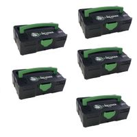 Tanos 5x Micro-Systainer Festool komp. T-Loc Kirchner Edition 31,3x105x65 mm