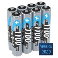 ANSMANN Micro AAA Akku Typ 1100mAh NiMH hochkapazitive Akkubatterie 8er Pack