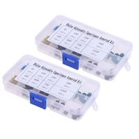 160 Stück Kondensator Sortimentsbox Kit, Bereich 5P 10P 20P 30P 40P 60P 70P 120P