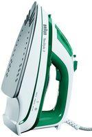 Braun TS 345 Tex Style 3 Dampfbügeleisen, Farbe: Weiß/Grün