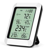 Innenthermometer, Hygrometer Gauge Anzeige Digital Innen Thermometer Raumtemperatur und Luftfeuchtigkeit Monitor