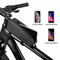 ROCKBROS Rahmentasche Wasserdichte Fahrradtasche Oberrohrtasche für MTB Rennrad