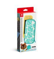 Nintendo Switch Lite - Tasche Animal Crossing: New Horizons-Edition + Schutzfolie - ZB-Nintendo Switch