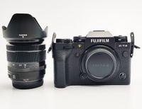 Fujifilm X-T4 schwarz mit Objektiv XF 18-55mm 2.8-4.0 R LM OIS