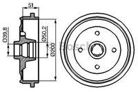 Bosch Bremstrommel  0 986 477 053