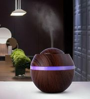 500ML Ultraschall Luftbefeuchter Aroma Diffuser 7 Farben LED-Licht Humidifier Ultra Leise Luftbefeuchter