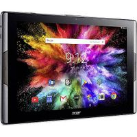 Acer Iconia Tab 10 A3-A50 / schwarz / 10,1' FHD IPS / WiFi / 2,1 GHz Hexacore / 64GB / 4GB / Android 7.0, Farbe:Schwarz