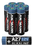 8 ANSMANN A27 12V Alkaline Batterie - 8er Pack