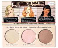 "theBalm Sets The Manizer Sisters aka ""The Luminizers"""