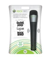 Microsoft Xbox 360 Wireless Microphone, Schwarz