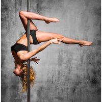 Profi Pole Dance Stange Tanzstange 45mm GoGo Tabledance Static + Spinning Ohne Bohren