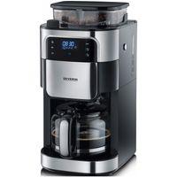 SEVERIN KA 4813 Kaffeemaschine Schwarz Edelstahl gebürstet Fassungsvermögen Tassen 10