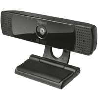 TRUST GXT1160 VERO FULL HD Webcam, Farbe:Schwarz