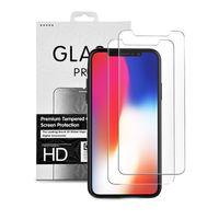 2X iPhone 11 Panzerglas Glasfolie Display Schutz Folie Glas Full Screen 9H Hart Echt Glas Displayschutzfolie