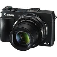 Canon PowerShot G 1 X Mark II Digitalkamera schwarz