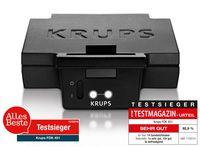 Krups FDK 451 Sandwichtoaster schwarz matt