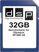 DSP Memory Parent für Olympus SP-600 UZ, Black 32GB