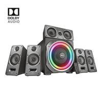 Trust GXT 698 Torro PC-Lautsprecher 5.1-Heimkino Surround-Sound mit Dolby