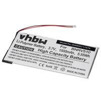 vhbw Akku Ersatz für Barnes & Noble PR-285083 für eBook Reader (1500mAh, 3,7V, Li-Polymer)