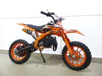 Pocketbike Dirtbike Pocket Cross 49cc Kindercross Crossbike KXD 701 Orange