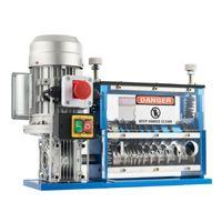 370W Φ1,5 - 38 mm Elektrische Kabelschälmaschine Kabel Abisoliermaschine Abisoliergerät