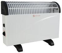 Alpina elektrischer Konvektor-Heizkörper 38,5 cm Stahl weiß
