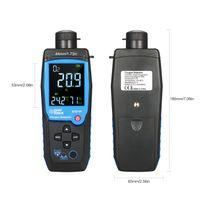 Handheld Digitaler Sauerstoffdetektor USB Wiederaufladbarer Kfz-O2-Sensortester Monitor LCD-Anzeige Einstellbarer Alarm Sauerstoff-Ausschaltautomatik fuer Autotunnellabor und Industrie