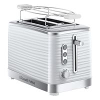 Russell Hobbs 24370-56 Inspire White Toaster weiß, Farbe:Weiß
