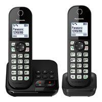 Panasonic KX-TGC 462 GB Schnurloses-Telefon schwarz, Farbe:Schwarz
