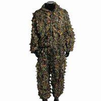 (A) $ 3D Laub Tarnung Jagdtarnung Tarnung ghillie Anzug Tarnanzug Tarnkleidung Wald
