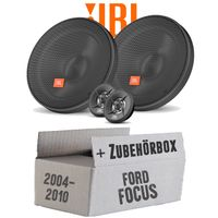 Lautsprecher Boxen JBL 16,5cm System Auto Einbausatz - Einbauset für Ford Focus 2 Front - justSOUND