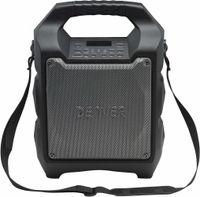 Denver Electronics TSP-203, 20 W, 12,7 cm, Handheld Public Address (PA) system, Schwarz, LED, Verkabelt & Kabellos