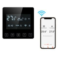 FLOUREON   WIFI Raumthermostat Programmierbar Thermostat FußBodenheizung mit App-Steuerung / Energie sparen