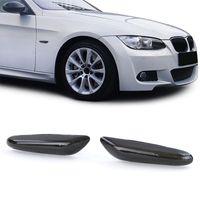 LED Seitenblinker Schwarz für BMW 1er E82 E88 3er E90 E91 E92 5er E60