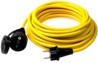 as-Schwabe 60356 Verlängerung, 50m K35 AT-N07 V3V3-F 3G1,5 Verlängerungskabel, gelb, IP44 Aussenbereich