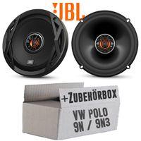 VW Polo 9N 9N3 Front - Lautsprecher Boxen JBL Club 6522   2-Wege   16,5cm Koax Auto Einbauzubehör - Einbauset