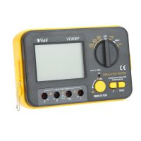 VC60B Digital Isolationsmessgerät Isolationsprüfer Megohmmeter Messdisplay