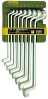 Proxxon Doppel-Ringschlüsselsatz 8-teilig von 6 x 7 bis 20 x 22 mm