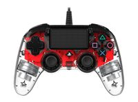 Nacon PS4 Controller Light Edition Red