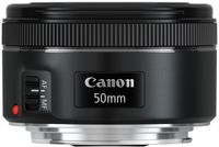 Canon 50 mm / F 1.8 EF STM Standardobjektiv fÃ1/4r Canon EF / EF-S Spiegelreflexkameras, F1,8, Vollformatsensor, Ultraschallmotor, Autofokus, 49 mm Filterdurchmesser, 160 g