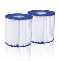 Summer Waves Pool Papierfilter Filter Kartuschen Kartuschenfilter Papier Typ D, Herstellernummer:ESP_52-0001, Stückzahl:2er Pack