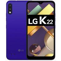 LG K22 Smartphone 32GB Blue 6,2 Zoll Android Handy LTE/4G Dual-Kamera 3000 mAh