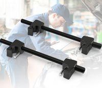 COSTWAY Auto Federspanner Tieferlegung Montagespanner Krallen Spannweite für KFZ PKW Stossdämpfer