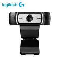 Logitech C930C Webcam 1080P H.264 Videoanruf Computerkamera Business Remote Online-Unterricht Webkamera Clip-on-Kamera mit Mikrofon fuer Laptop-Notebook-Monitor